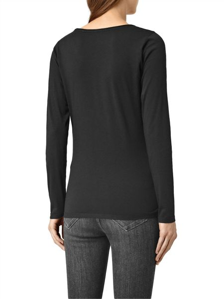 AllSaints Vetten Long Sleeved Tee