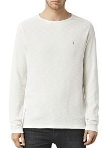 AllSaints Clash Long Sleeve Crew Neck T-Shirt
