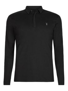 AllSaints Brace long Sleeve polo T-Shirt