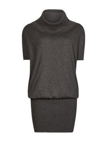 AllSaints Elis Cowl Dress