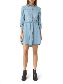 AllSaints Sanko Denim Dress