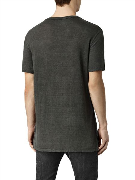 AllSaints Cadfer montaud short Sleeve Crew Neck T-Shirt