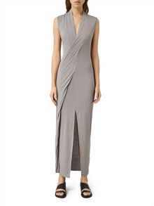 AllSaints Long Siv Dress