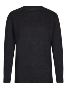 AllSaints Aurora long sleeve crew neck t-shirt