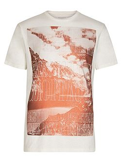 Mountain short Sleeve crew Neck T-Shirt