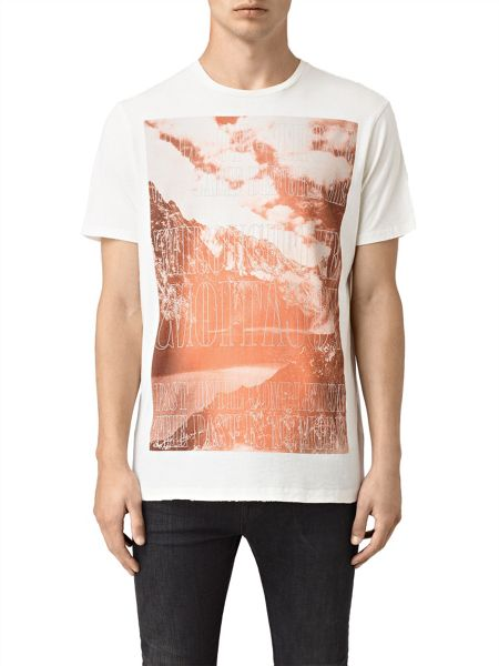 AllSaints Mountain short Sleeve crew Neck T-Shirt