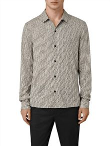 AllSaints Peck Long Sleeve Shirt