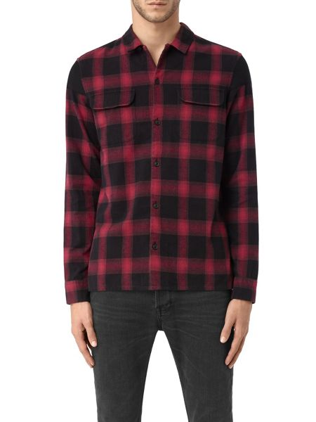 AllSaints Nanaimo long sleeve shirt
