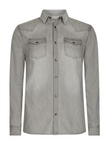 AllSaints Pirnmill Long Sleeve shirt
