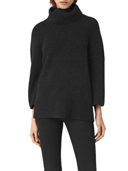 AllSaints Jago Roll Neck