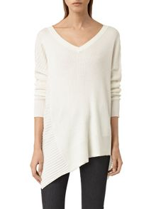 AllSaints Keld V-Neck Top