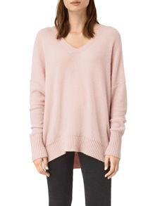 AllSaints Alpha V-Neck Jumper
