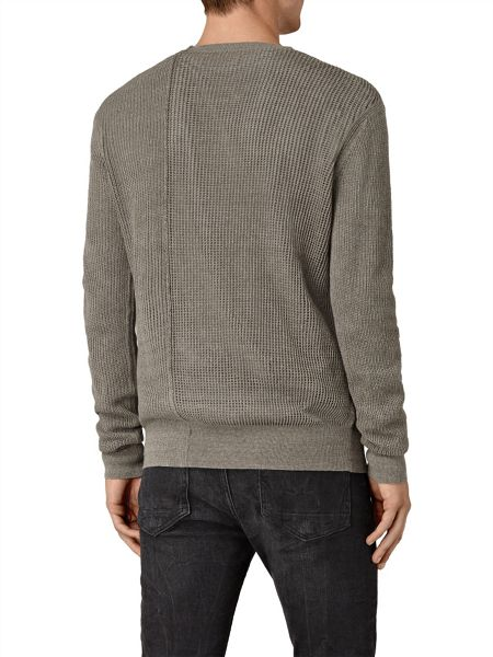 AllSaints Marrin crew neck jumper