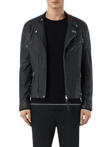 AllSaints Den leather biker jacket