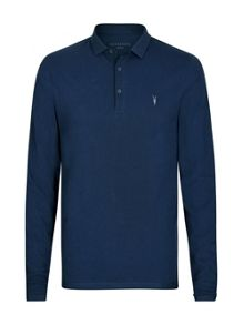 AllSaints Reform Long Sleeve Polo Shirt