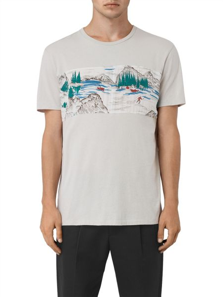 AllSaints Canada twelve crew neck t-shirt