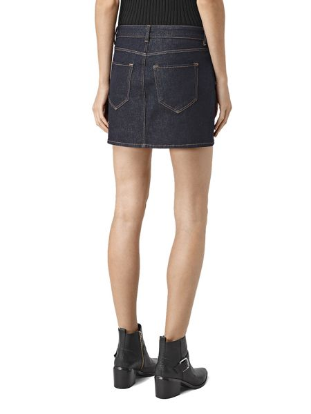 AllSaints Ace Mini Denim Skirt