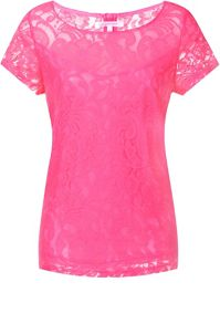 Luxe lace tshirt