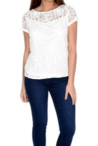 Alice & You Lace Layer Tee