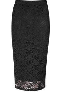 Alice & You Lace pencil skirt