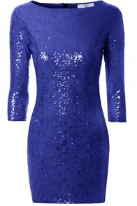 Bodycon Sequin Midi Dress