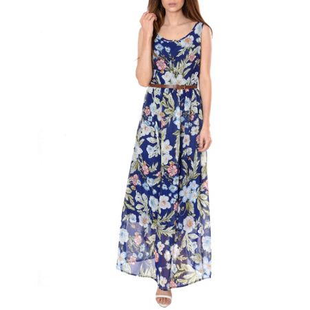 Alice & You Belted Maxi Dress