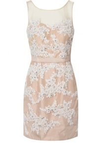 True Decadence Lace Embellished Dress