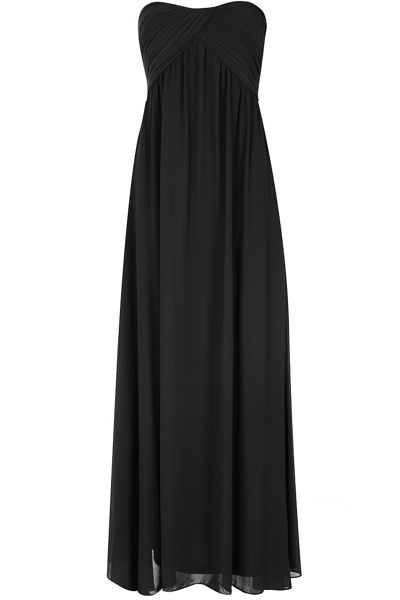 Alice & You Ruched Bandeau Maxi Dress