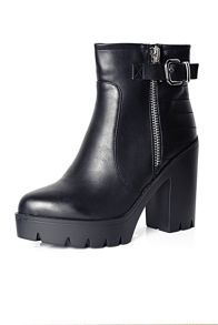 Alice & You Chunky heel ankle boot