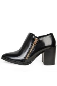 Alice & You Zip up heeled ankle boot