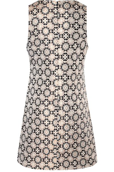 True Decadence Jacquard sleeveless shift dress
