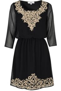 True Decadence Embroidered Dress