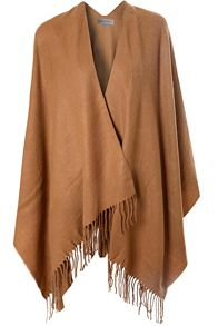 Tassle Blanket Cape