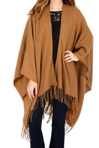 Alice & You Tassle Blanket Cape