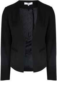 True Decadence Collarless Tailored Blazer