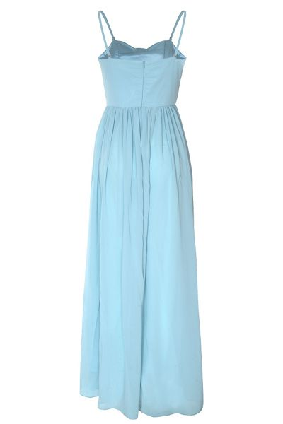 True Decadence Bow pleat maxi dress