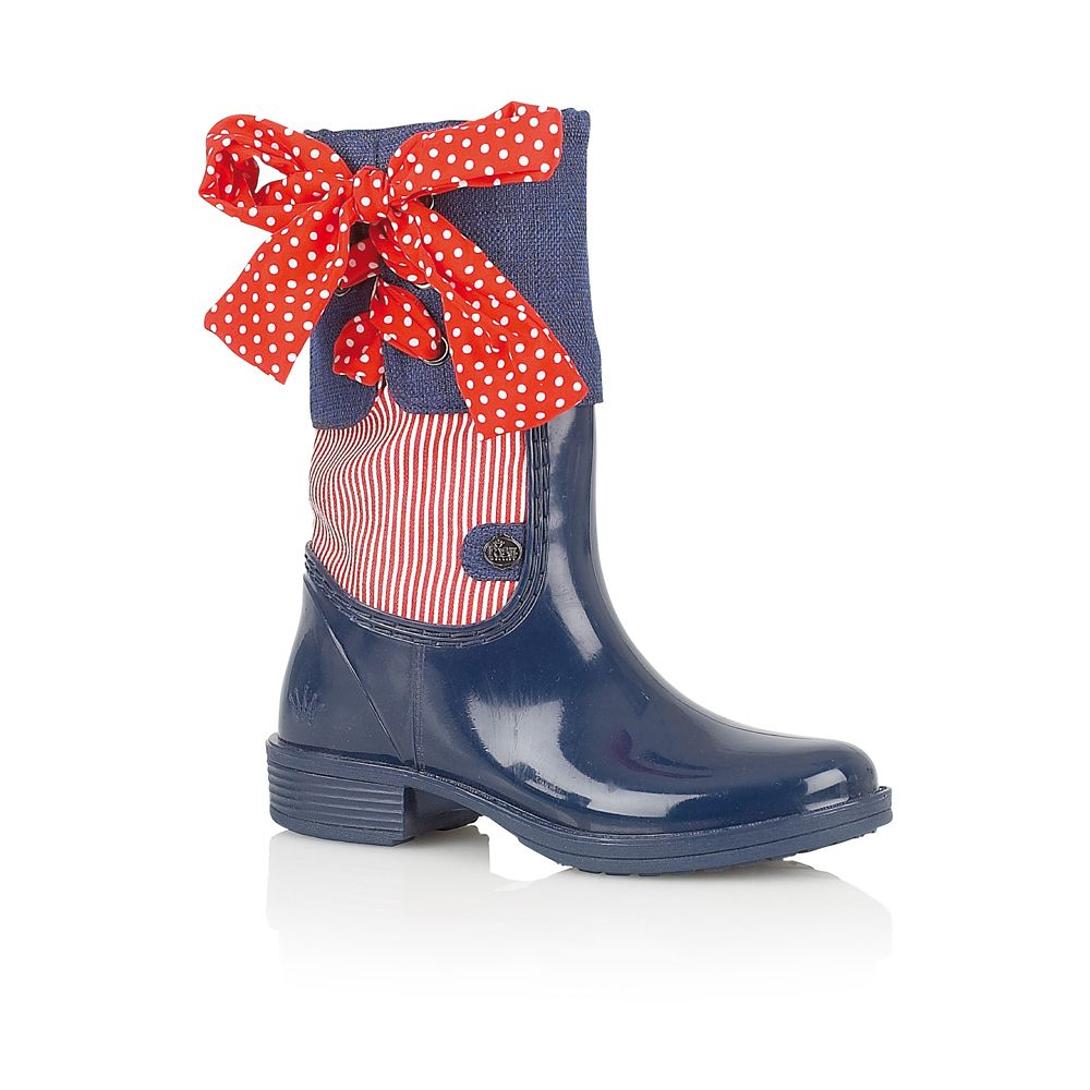 Posh nubian welly boots