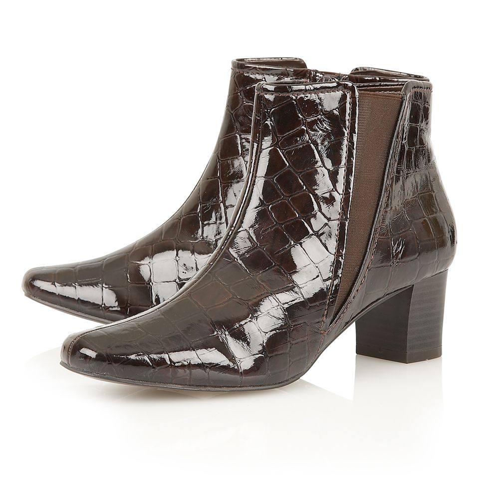 Damask casual boots