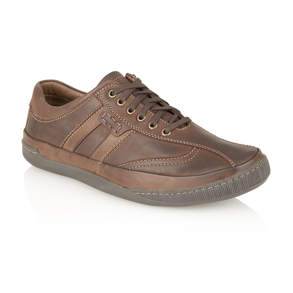 Hampton mens casual lace up shoe