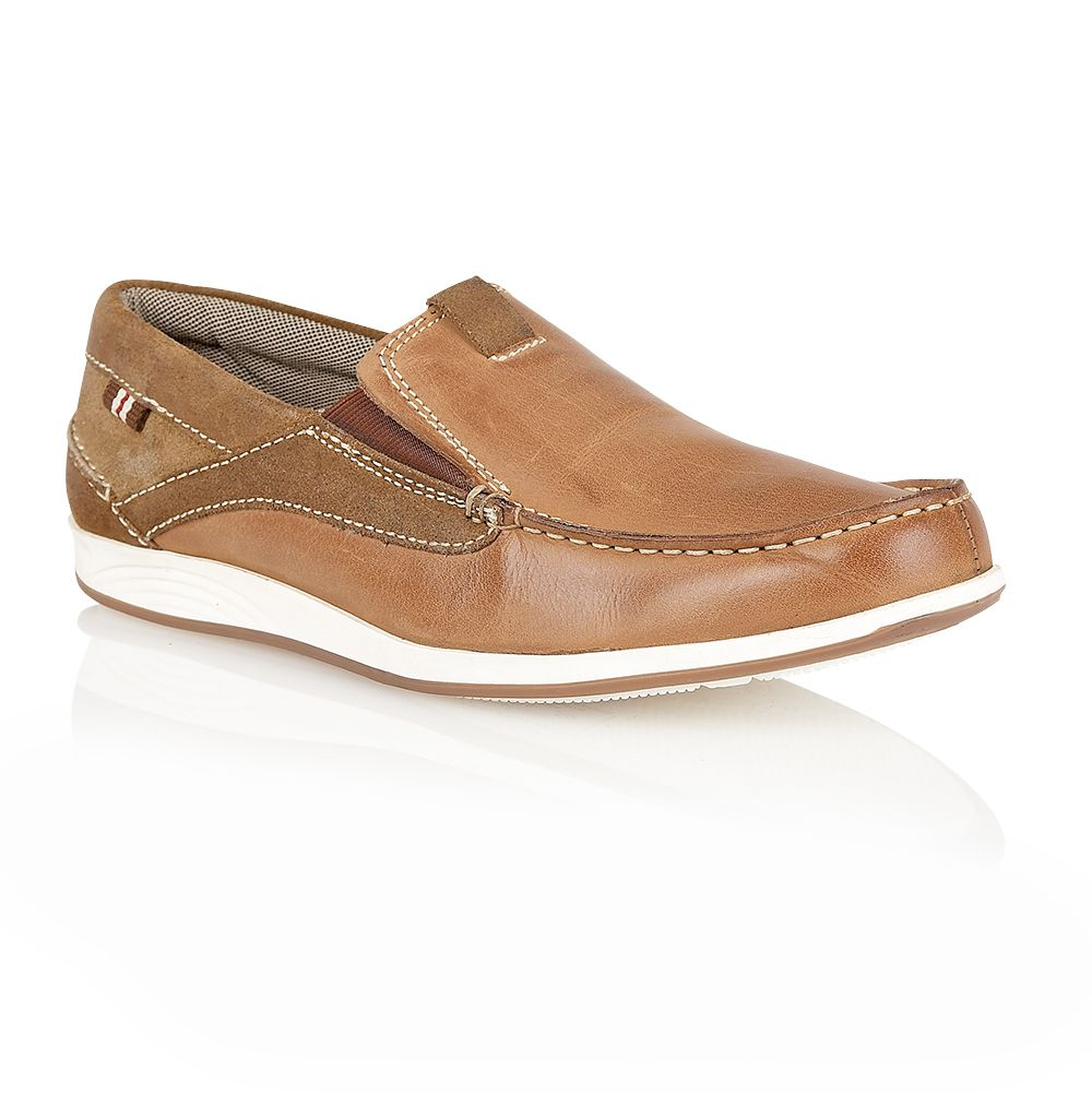 Robworth mens deck shoe inspired