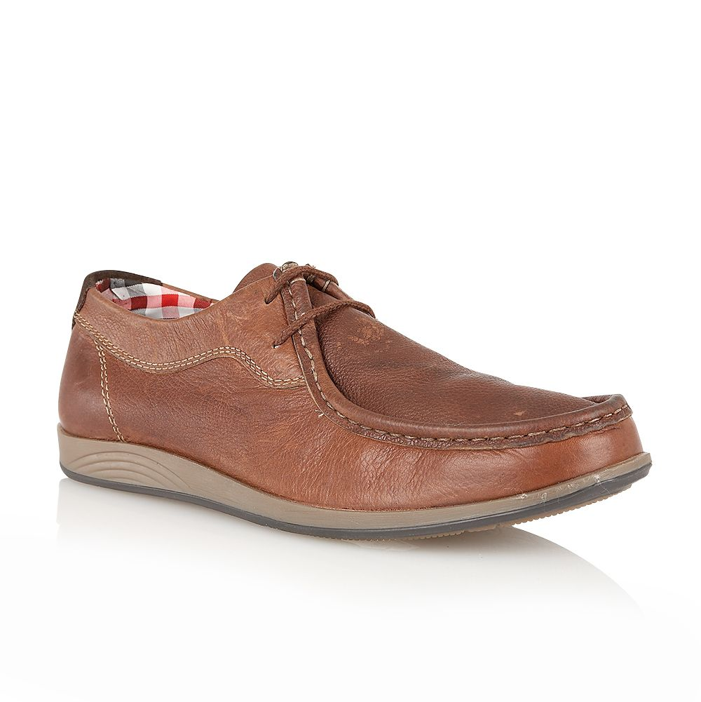 Prescot mens moccasin shoes