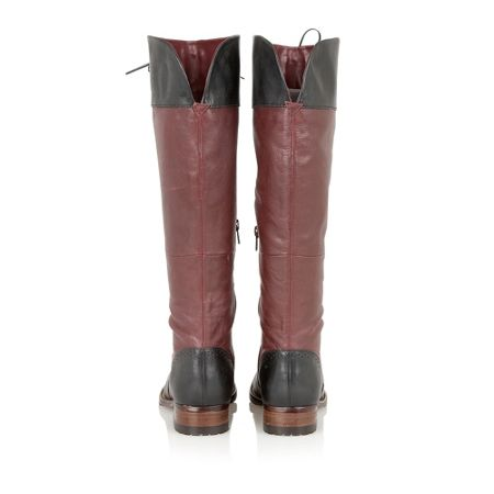 Lotus District knee high boots
