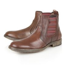 Lotus Slip On Casual Chelsea Boots