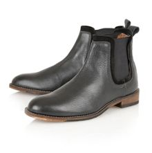 Burnley Slip On Casual Chelsea Boots
