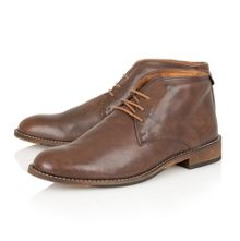 Richmond Lace Up Formal Desert Boots
