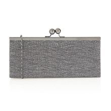 Kezi printed clutch bag