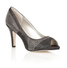 Shiraz high heel peep toe shoes