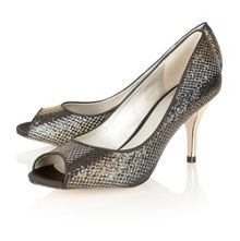 Spark peep toe shoes
