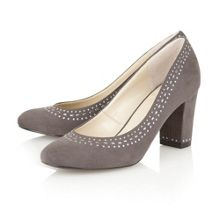 Refine high heel court shoes