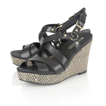 Naturalizer Robyn strappy wedges